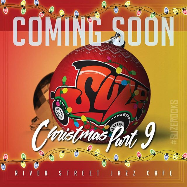 👀🎄 . . #suzerocks #suzechristmas #suzechristmaspart9 #riverstreetjazzcafe #christmasday #comingsoon #blues #funk #rock #bluesy #funky #bluesyfunk #funkyblues #guitar #bass #drums #vocals #saxophone #keys #vaguedetails #guitarist #drummer #bassist @riverstreetjazzcafe
