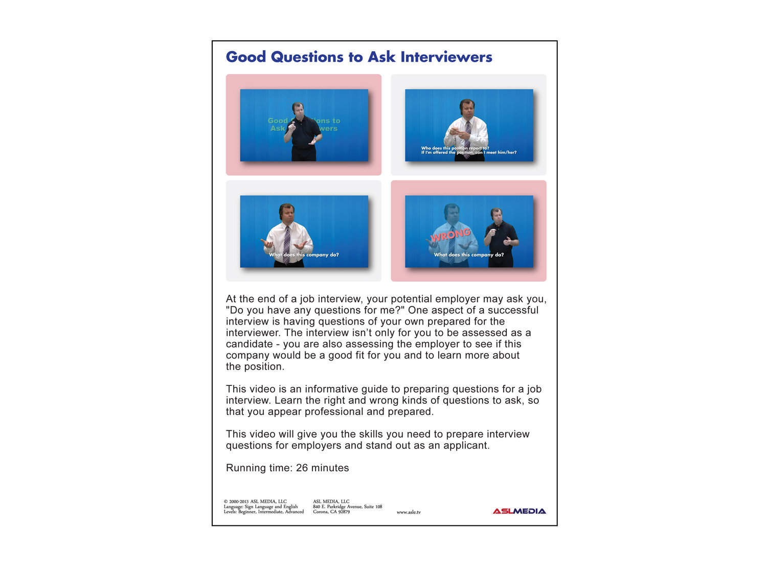 job success good questions to ask interviewers dvd first version - Interview Checklist For Employer Interview Checklist And Guide For Employers