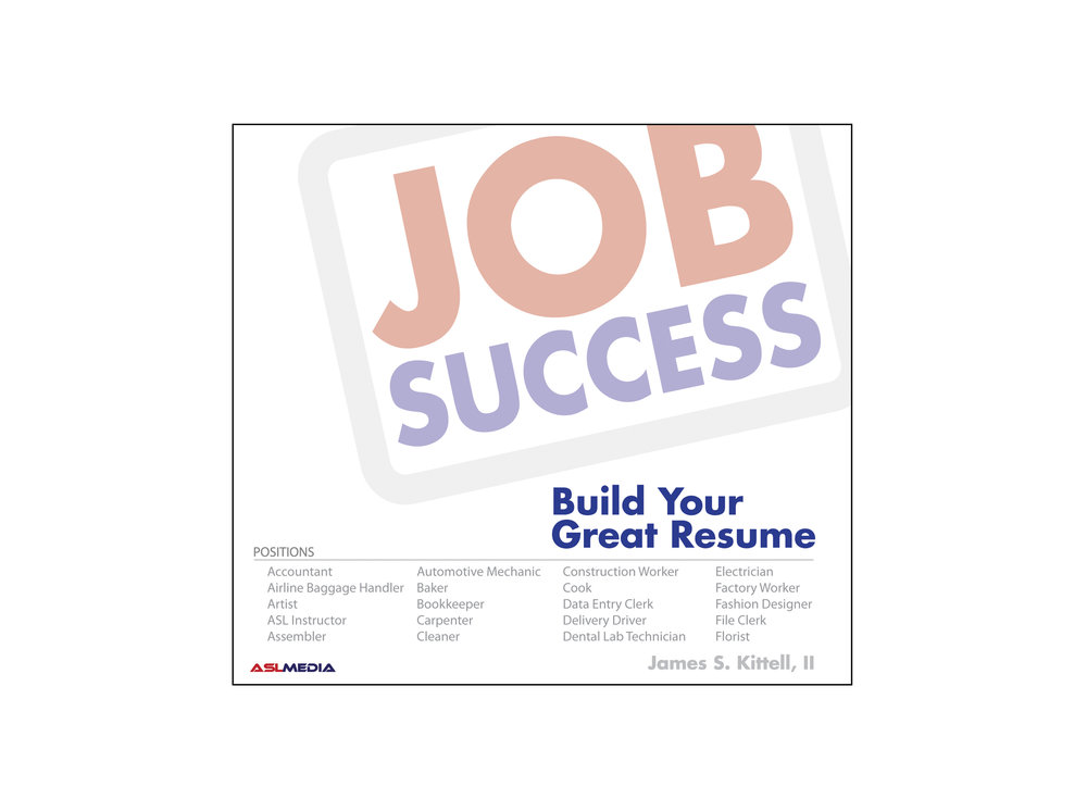 Job Success: Build Your Great Resume   40 DVD Discs (First Version)  How To Build A Great Resume