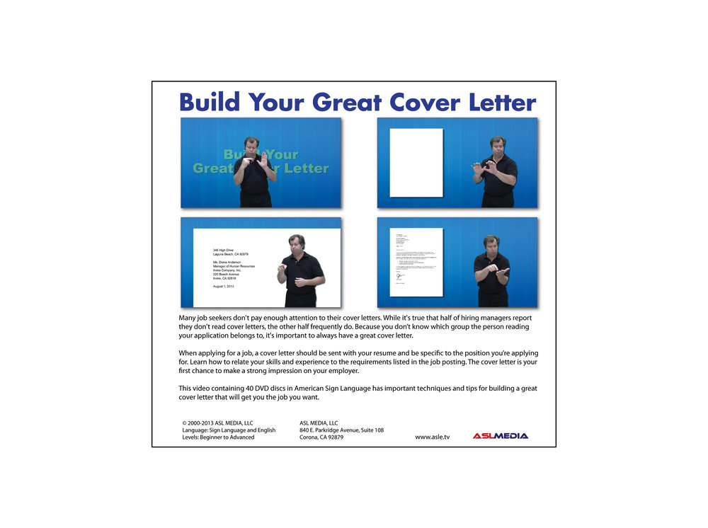 creating great cover letters An email cover letter includes pretty much the same content as a hard copy cover letter, with a few optional additions apply for a summer job using one of these sample cover letters even writers need help creating great cover letters part-time job cover letter examples and writing tips.