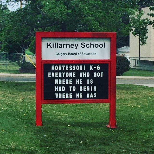 Killarney School is one of 2 schools in our neighbourhood.