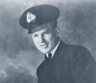 Lt Robert Hampton Gray, RCNVR was the last Canadian in the Royal Navy fleet to be awarded Britain's highest military honour, the Victoria Cross. He trained at HMCS TECUMSEH and passed in 1945, leading an attack against the Japanese. Photo credit:  Vintage Wings of Canada