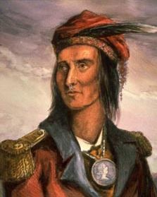 The base was named after Chief Tecumseh of the Shawnee tribe who served with the British Army and Canadian Militia in the War of 1812. Photo credit:    The War of 1812 Website