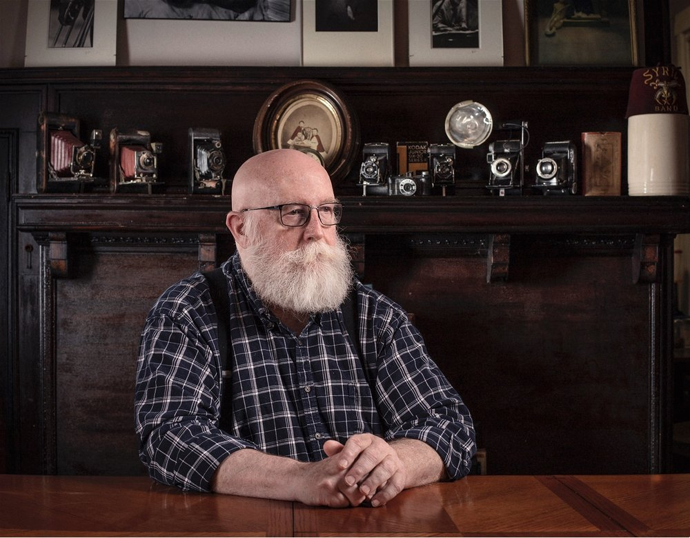 Jim Burke, Collector of 19th century photography