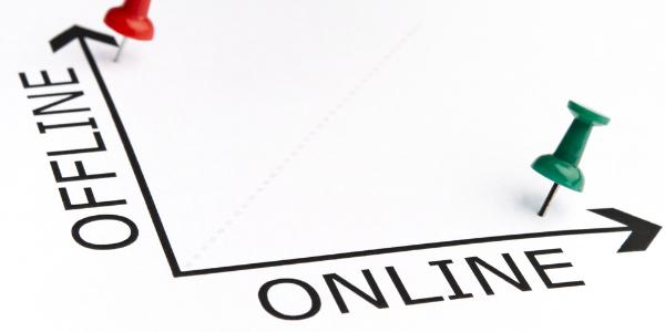Offline versus online