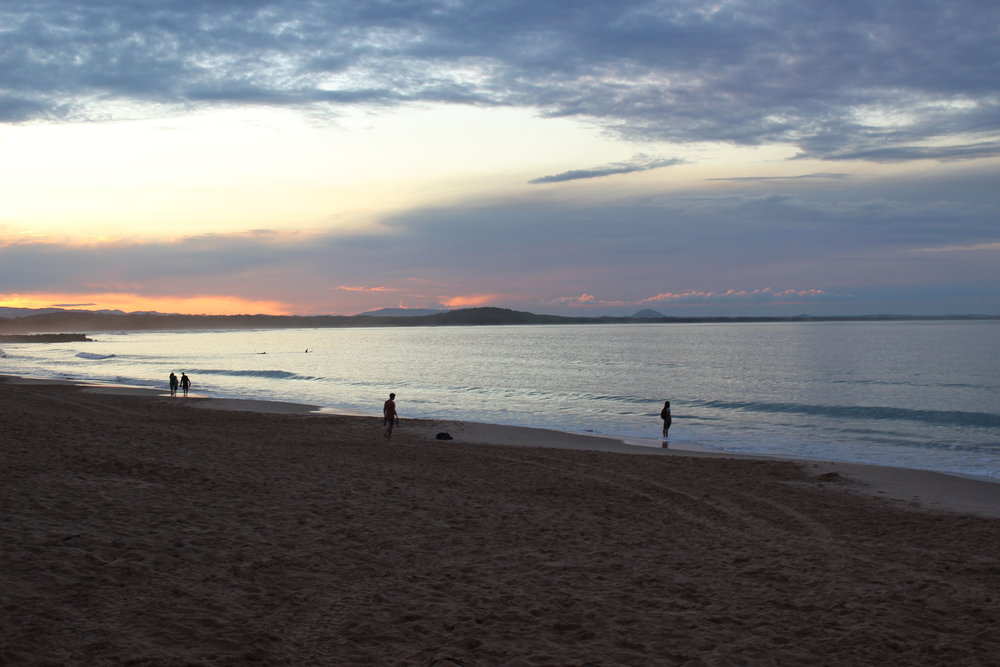 Sunset Noosa Main Beach