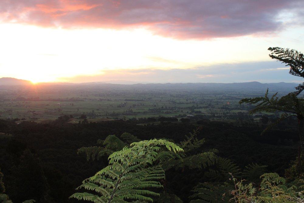 Sunset from Kaimais