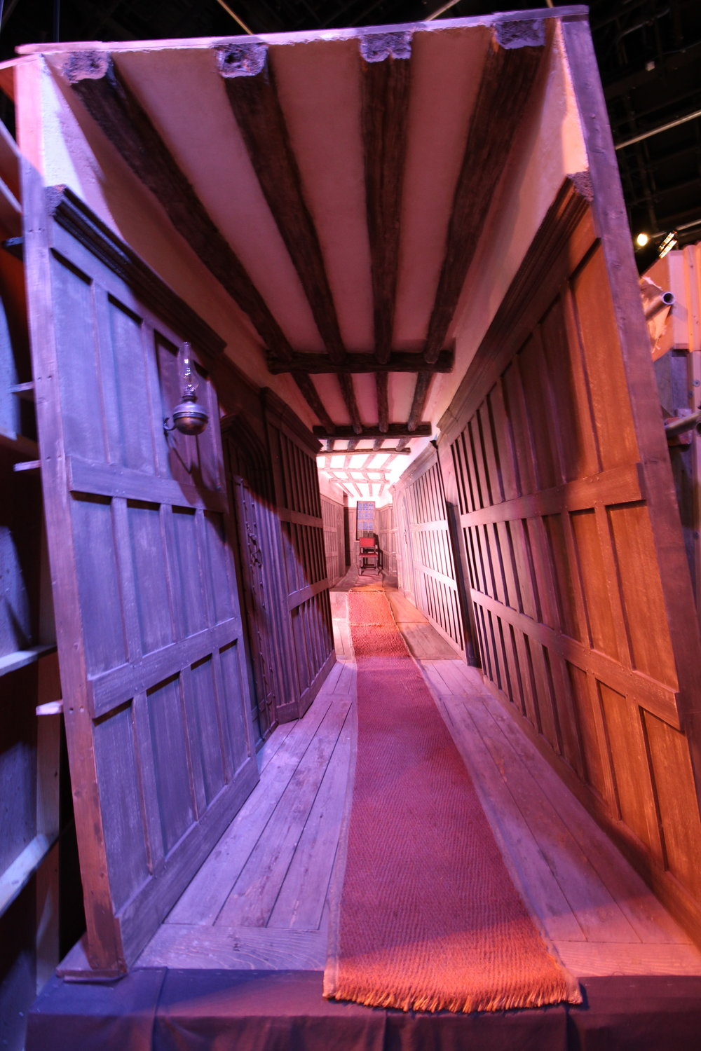 The Leaky Cauldron Hallway at Warner Bros Studios