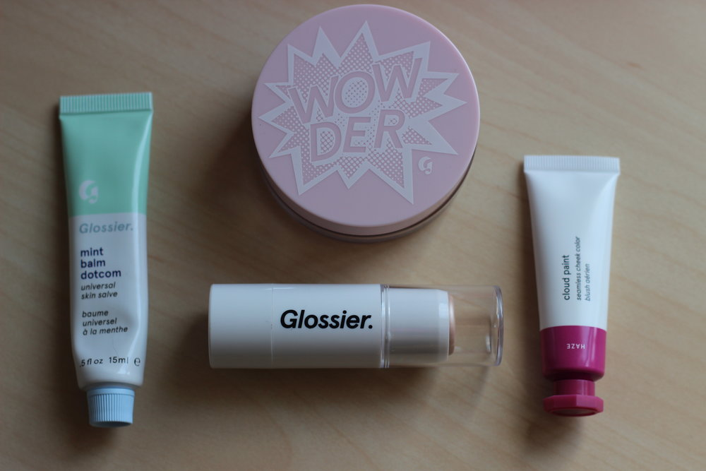 - I picked up the Wowder in Light/Medium, Balm Dotcom in Mint, Cloud Paint in Haze, and Haloscope in Quartz.