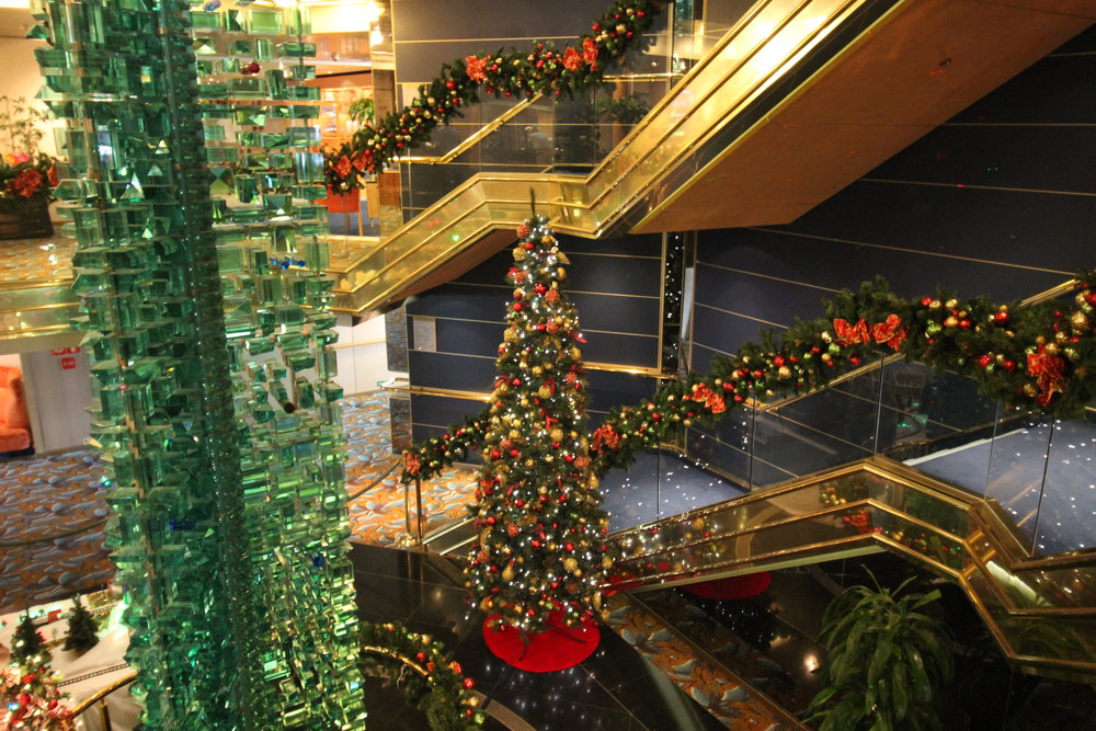 christmas on a cruise ship tayla rhiana - When Do Cruise Ships Decorated For Christmas