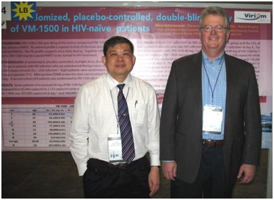 Photo: From Left to Right: Dr. Vinay Ratanasuvan (Dr. Winai Ratanasuwan), Dr. Vadim Bychko (Vadim Bichko)