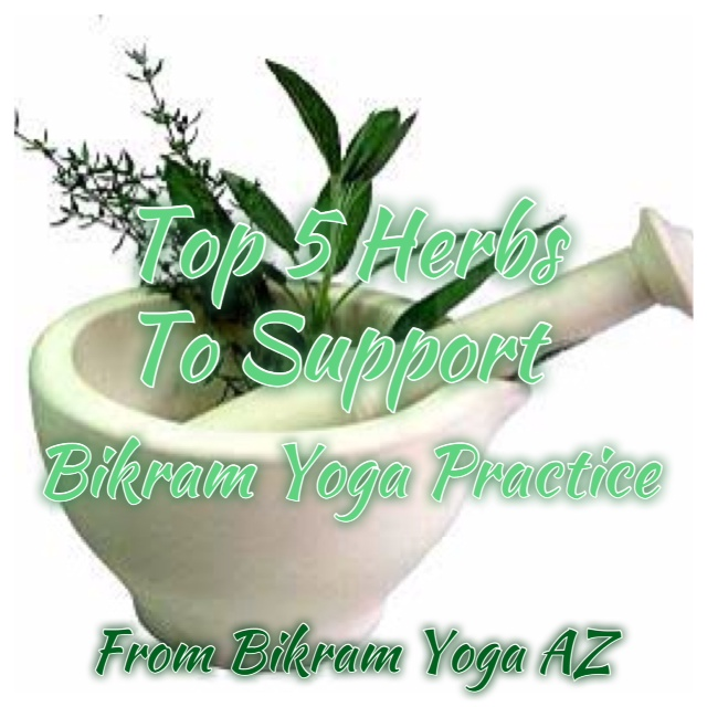 Top 5 Herbs to Support Bikram Yoga Practice — The Foundry