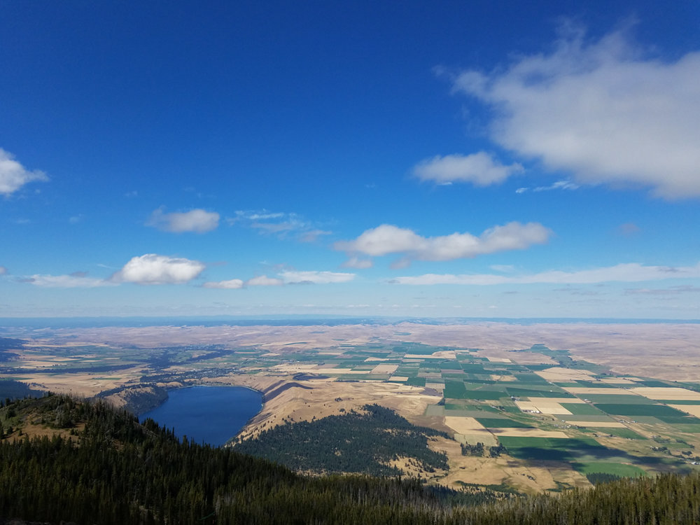 Wallowa Lake from Mt. Howard