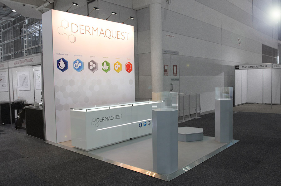 Exhibition Stand Hire Newcastle : Displays — dermaquest clinic care