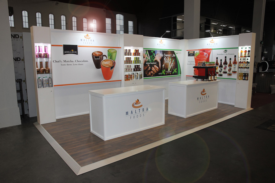 Exhibition Booth Hire Gold Coast : Displays — matra foods display