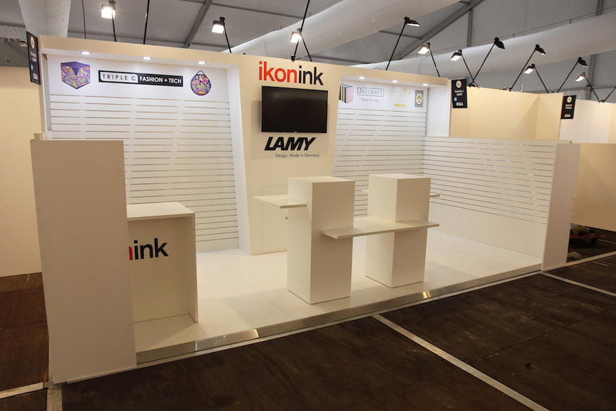 Exhibition Stand Hire Newcastle : Displays — ikon ink display solutions