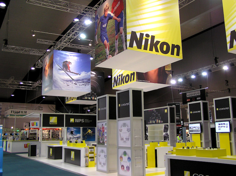 Exhibition Stand Lighting Qld : Displays — nikon display solutions