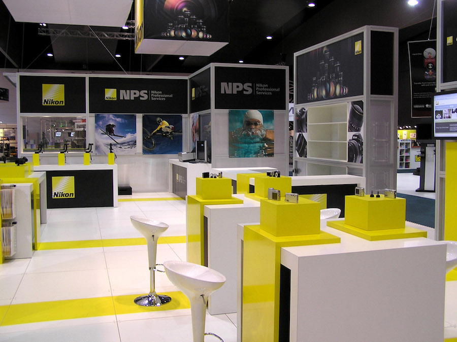 Exhibition Stand Hire Newcastle : Displays — nikon display solutions