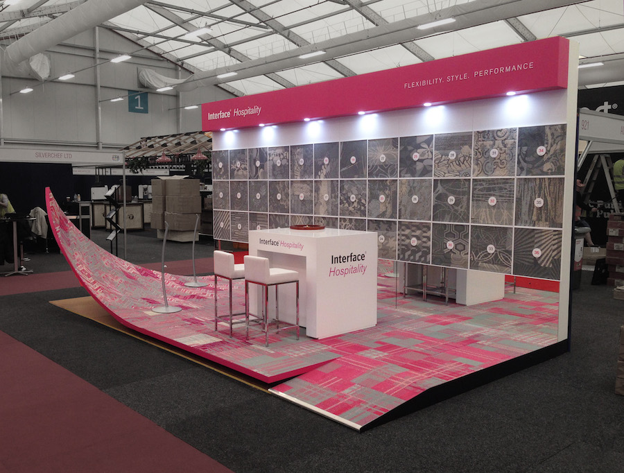 Exhibition Stand Hire Newcastle : Displays — interface hospitality