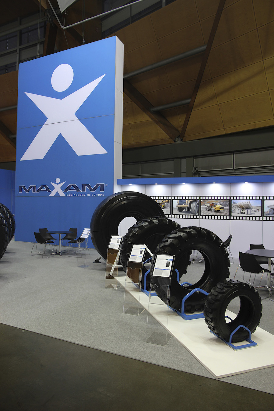 Exhibition Stand Hire Newcastle : Displays — maxam tyres display