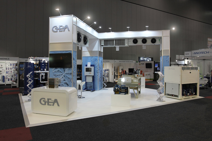 Exhibition Stand Lighting Qld : Displays — gea display solutions