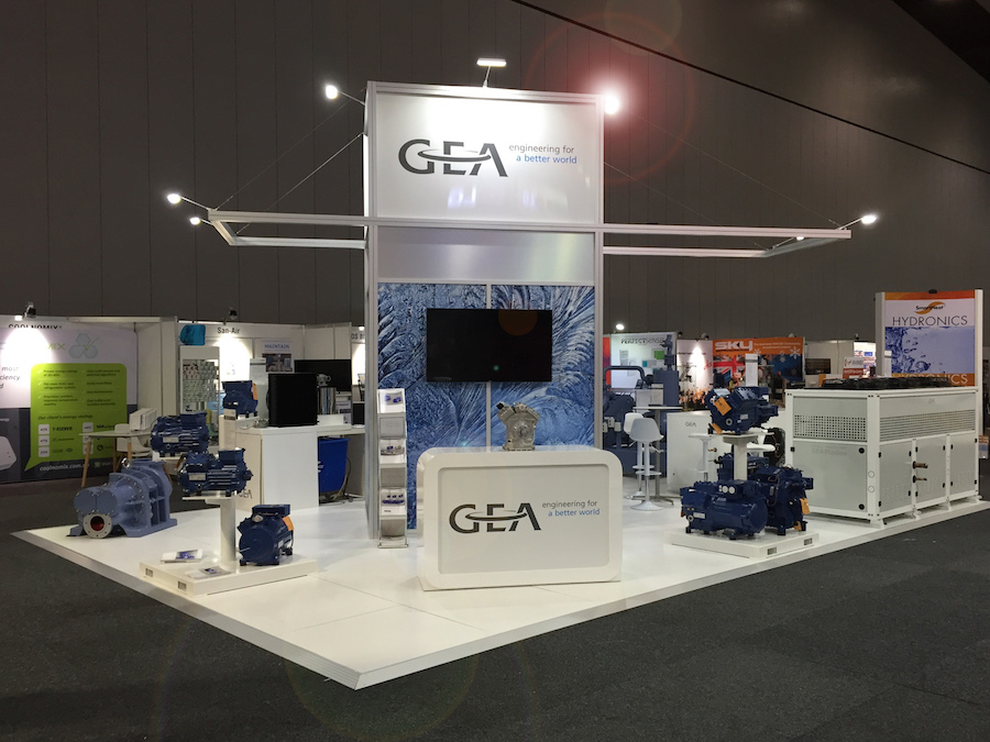 Exhibition Booth Hire Gold Coast : Displays — gea display solutions