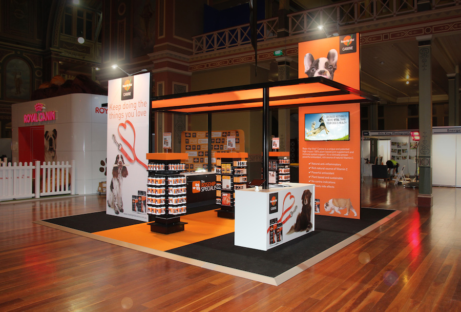 Exhibition Stand Hire Newcastle : Displays — rosehip vital canine
