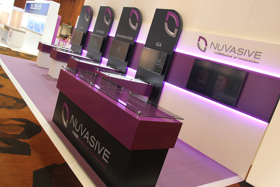 Exhibition Stand Hire Newcastle : Displays — nuvasive display solutions