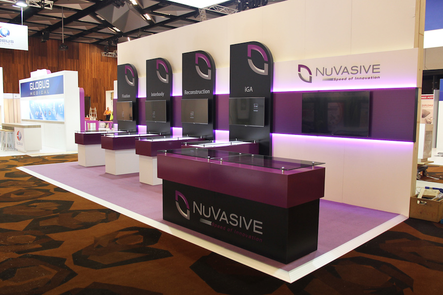 Exhibition Booth Hire Gold Coast : Displays — nuvasive display solutions