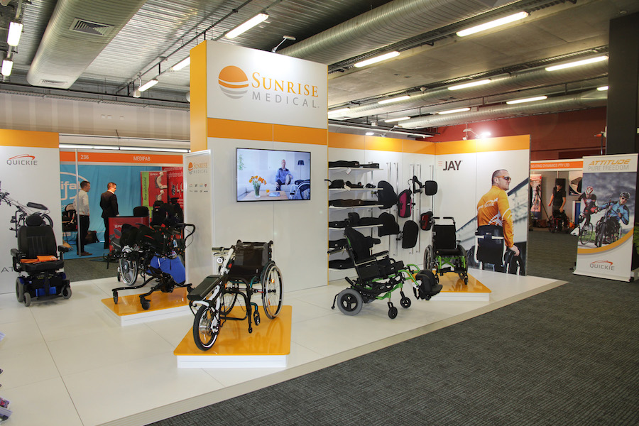 Exhibition Stand Lighting Qld : Displays — sunrise medical display