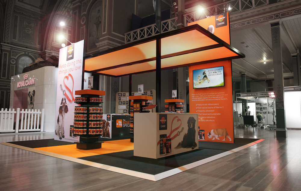 Exhibition Stand Hire Qualifications : Displays — display solutions retail systems