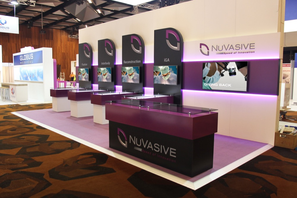Exhibition Display Stands For Hire : Displays — portfolio trade show portable stand booth