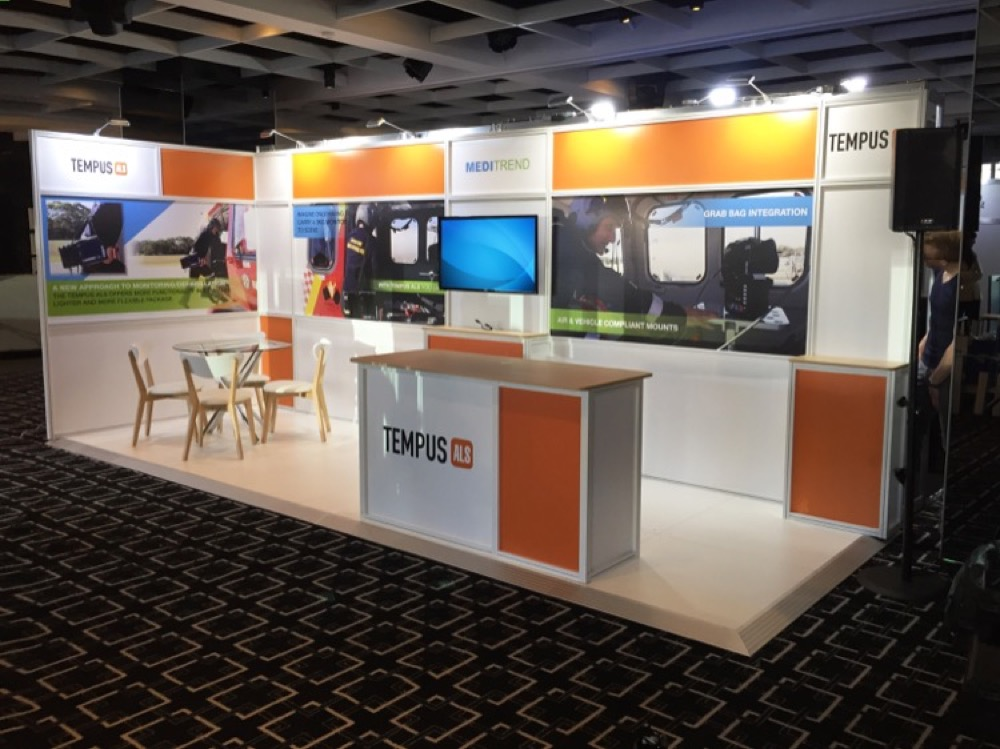 Exhibition Booth Hire Adelaide : Displays — portfolio trade show portable stand booth