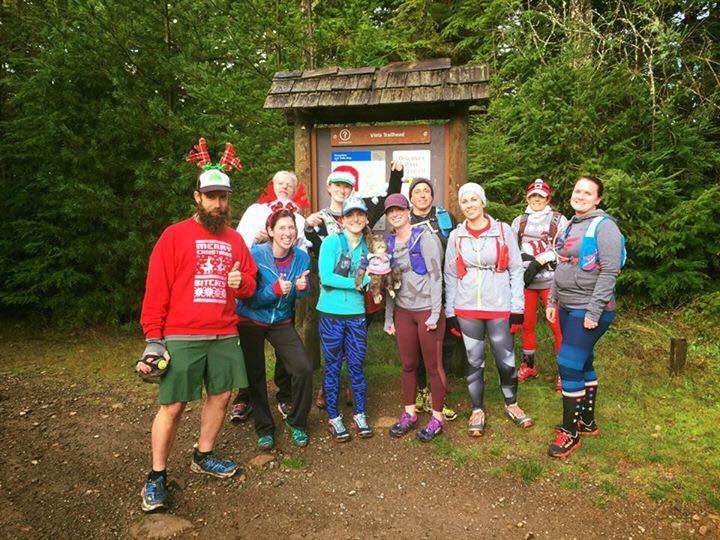 Evergreen Turtle Rockets - 2016 Black Friday Trail Festivus Run Green Mountain - Gold Creek Trailhead