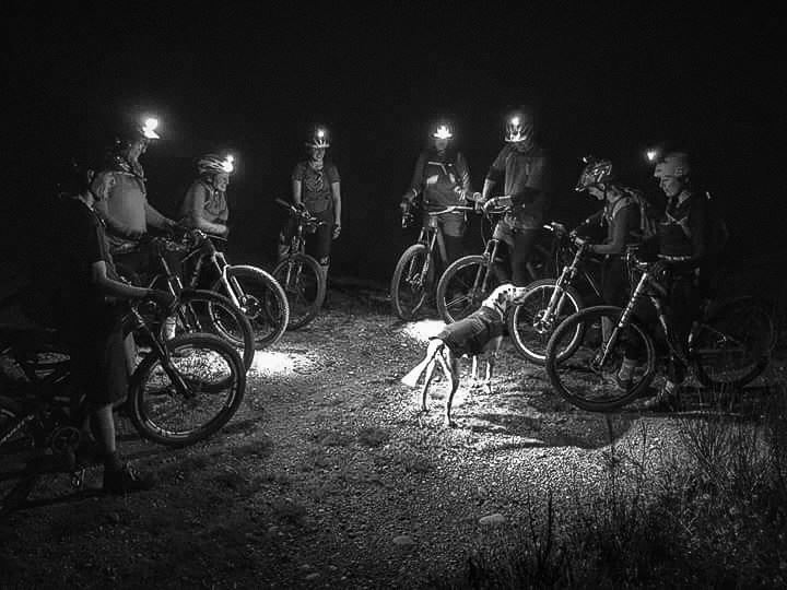 Photo credit: Brian Kilpatrick Tuesday Night ride, sometime back in 2016