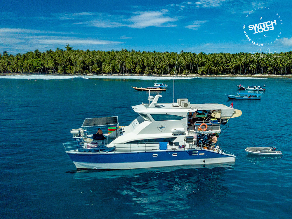 Specifically designed for luxury surf charters