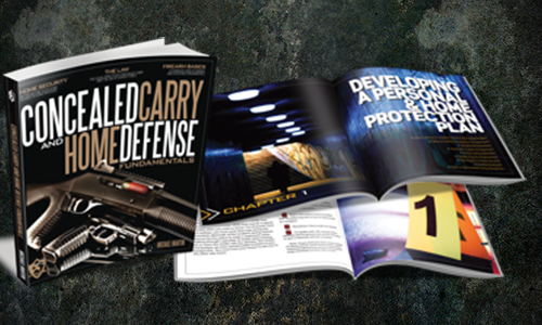 Each student who takes our ECCW course will take home a copy of USCCA's Concealed Carry and Home Defense manual, which they can use to review the items taught in the class.
