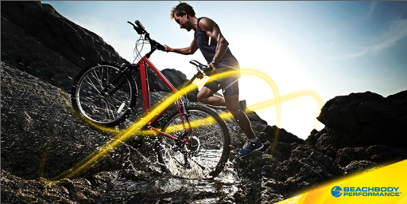 ad creative: endurance athlete audience imagery for nutritional supplements