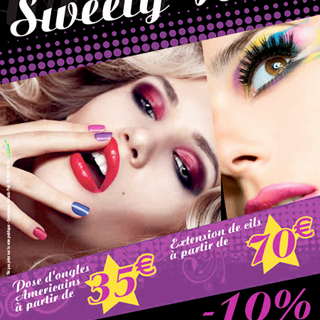 SWEETY NAILS  / Flyer