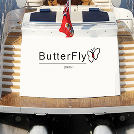 BUTTERFLY  / Marquage bateau