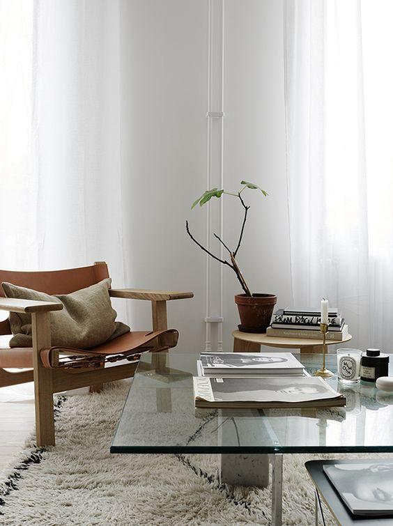 Fredericia sin Spanish Chair i hyggelig selskap (fra Pinterest)