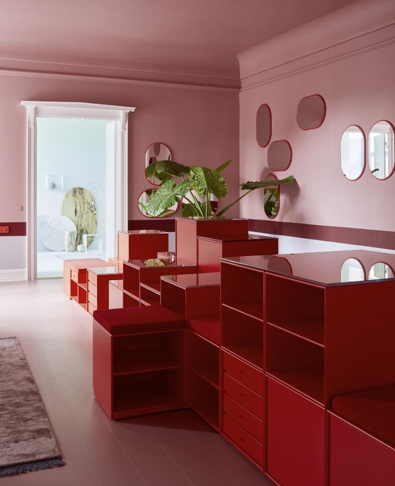 Fra Montana sitt nye showroom i Bredegade i København