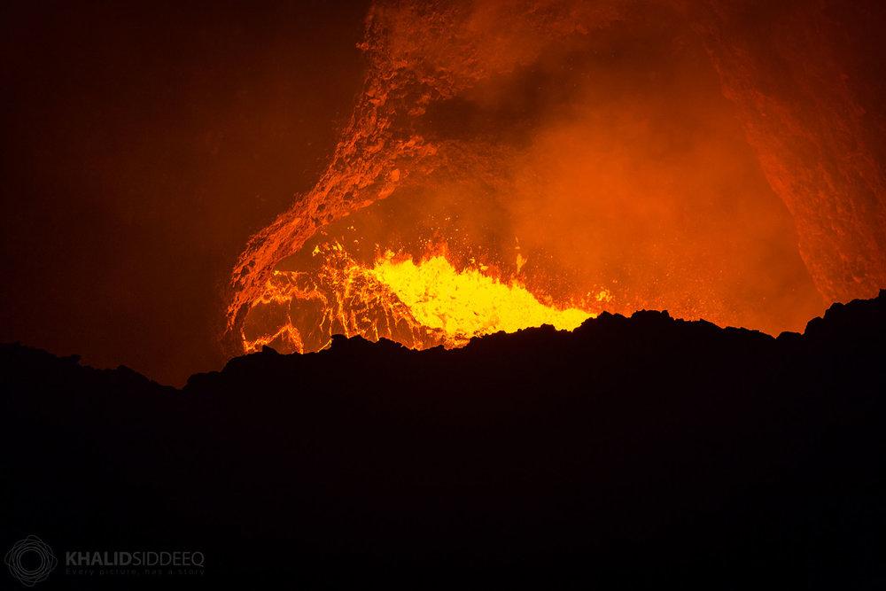 الحمم البركانية، نيكاراغوا