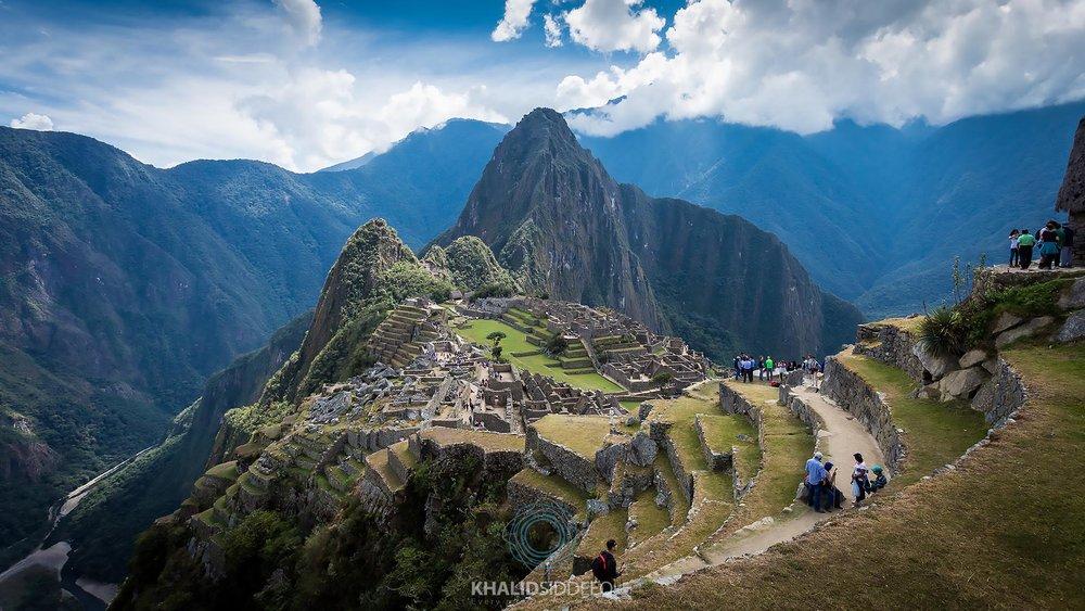 حضارة الإنكا، ماتشو بيتشو، بيرو