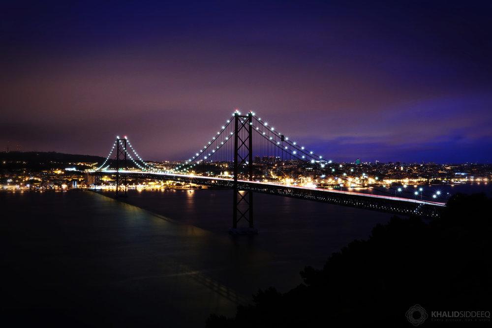 جسر 25 أبريل، لشبونة، البرتغال