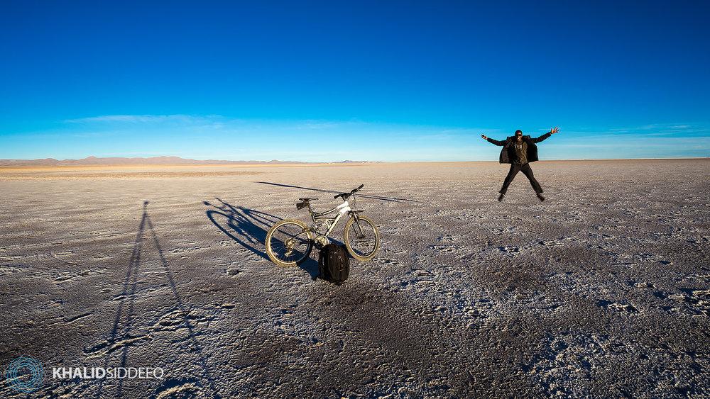سالار جي إيوني، أكبر منطقة ملحية في العالم، بوليفيا