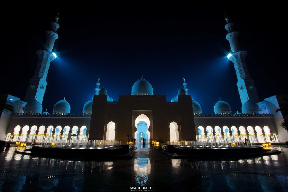 جامع الشيخ زايد، أبوظبي، الإمارات العربية المتحدة