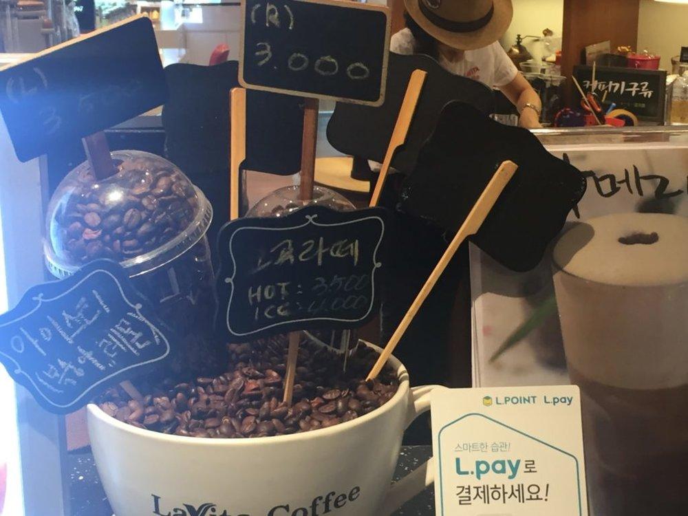 انتشار القهوة في كوريا لم أكن أتوقعه إلى هذا الحد