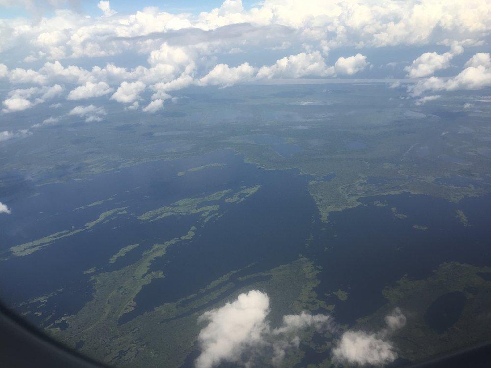 منظر جوي لغابات الأمازون