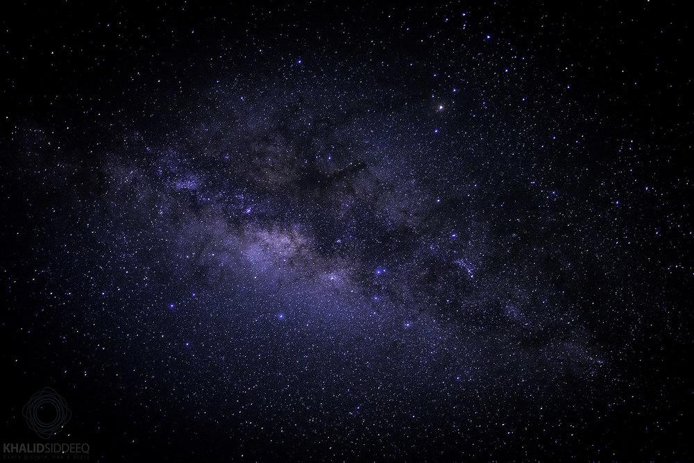المجرة كما تبدو ليلاً